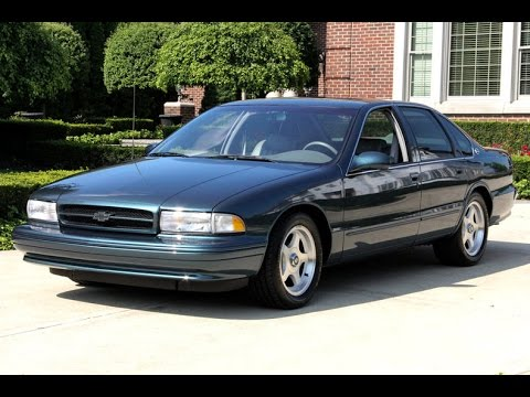 1996 chevrolet impala ss for sale youtube. Black Bedroom Furniture Sets. Home Design Ideas