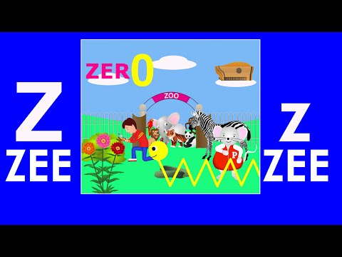 Alphabet Songs - The Letter Z (Zee)