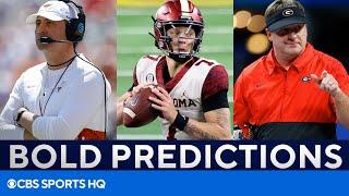College Football Bold Predictions: Texas, Oklahoma, Georgia, & MORE | CBS Sports HQ