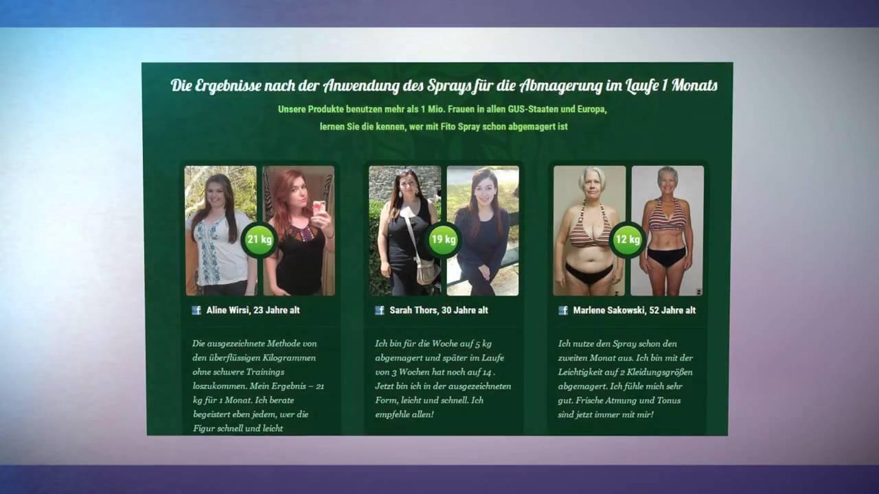 Gewichtsverlust in 1 Monat