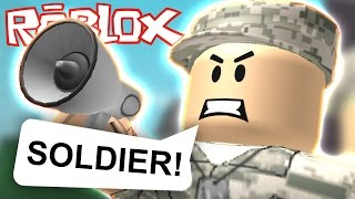 Roblox - Army Training Obby - THE HARDEST OBBY EVER!!