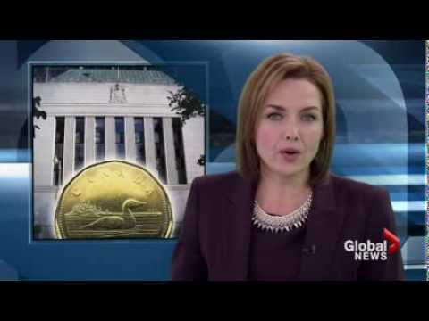 Canadian dollar takes a dive