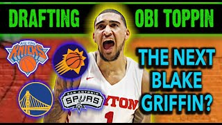 Who Should Draft Obi Toppin? [Warriors Would Be Getting A STEAL]