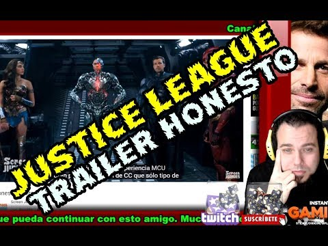 MI REACCION AL TRAILER HONESTO DE JUSTICE LEAGUE - WARNER BROS NOS ESCUPIO A LA CARA
