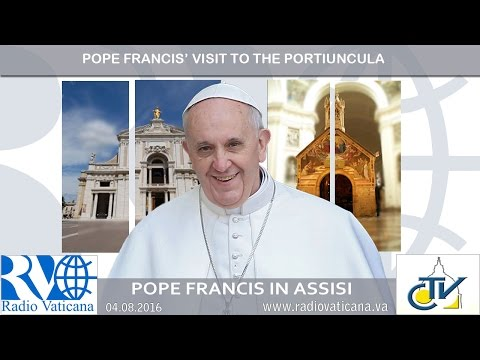 Pope Francis' visit to the Portiuncula in Assisi