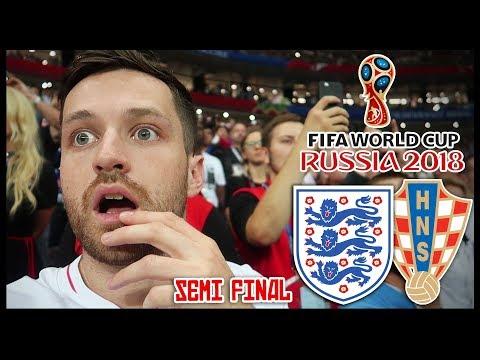 ENGLAND vs CROATIA! SEMI FINAL! EXTRA TIME HEARTBREAK ! - RUSSIA WORLD CUP 2018