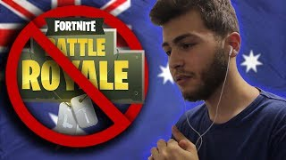 REACTING TO FORTNITE GETTING BANNED IN AUSTRALIA! ( Fortnite: Battle Royale )
