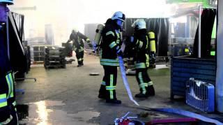 Waldeck-Höringhausen: Feuer in Filteranlage über Schweißroboter