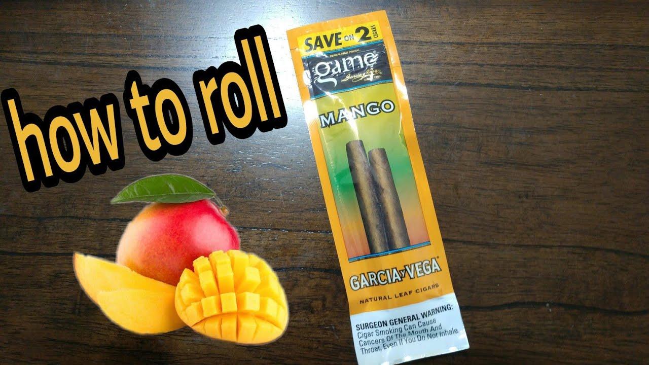 How To Roll Garcia And Vega Game Mango Natural Leaf Cigar