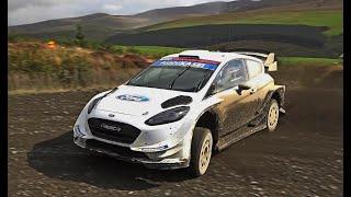 Wales Rally GB test Elfyn Evans WRC Ford Fiesta Pure Sound!!