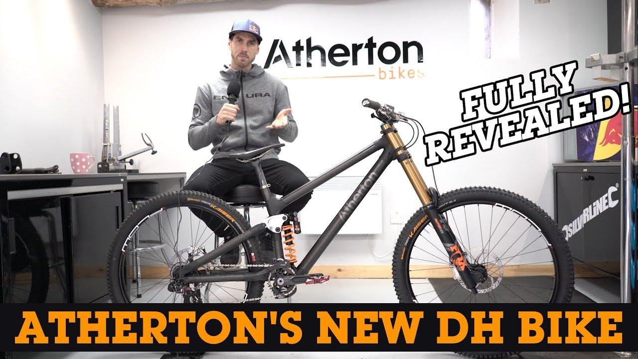 fe377541502 FINALLY! Atherton's New Downhill Bike Fully Revealed - YouTube