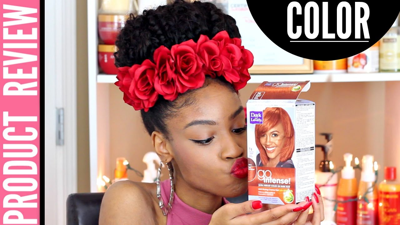 Dark And Lovely Go Intense Radiant Copper Box Dye Review Youtube