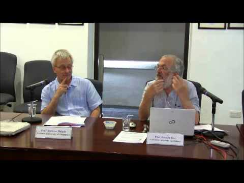 The Singapore Symposium in Legal Theory 2014: Talk by Prof Joseph Raz
