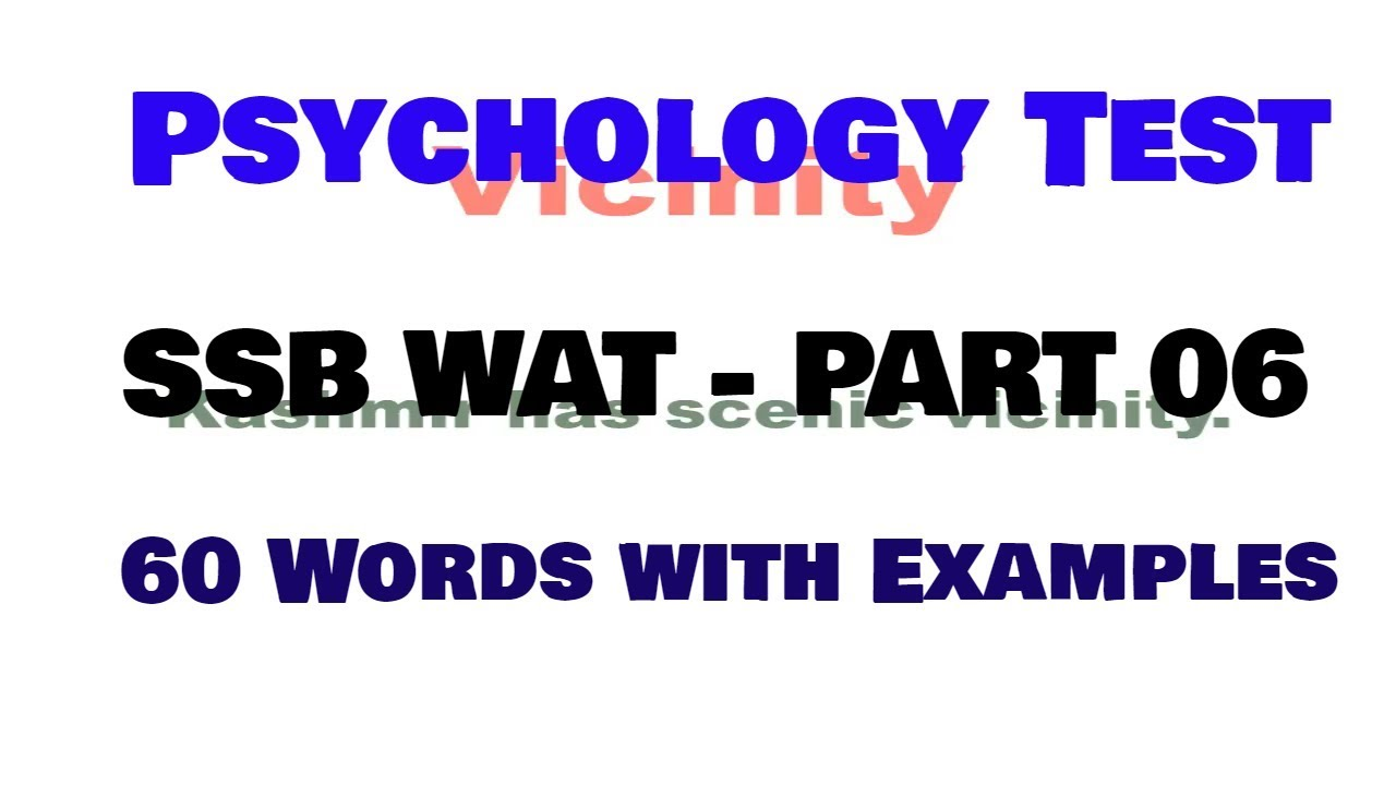 Word Association Test Answers (200+ Sample Responses) |Word Association Test