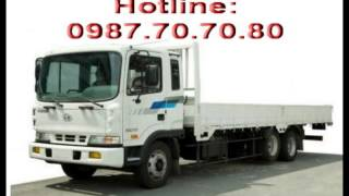 Hyundai HD210 Nhập Khẩu, Hyundai 3 Chân HD210 Thùng Bạt, Thùng Kín, Thùng Lửng