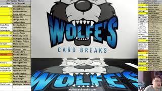 Wolfe's Card Breaks Live Stream