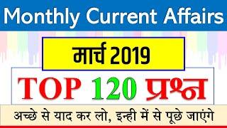 march monthly current affairs 2019 / मार्च की महत्वपूर्ण करेंट अफेयर्स / railway NTPC JE NDA SSC CGL
