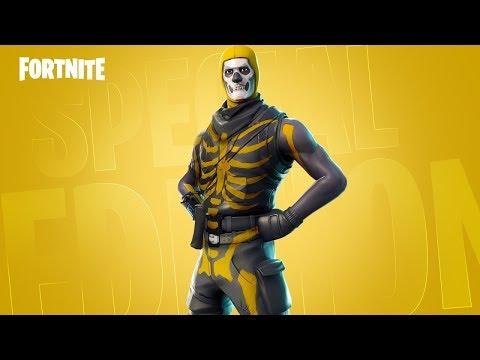 SECRET Skull Trooper skin in Fortnite..