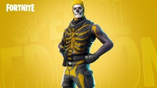 SECRET Skull Trooper skin in Fortnite..