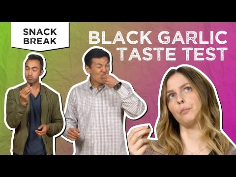 Mysterious BLACK GARLIC Taste Test & How To Cook With It | Snack Break - Tastemade Staff
