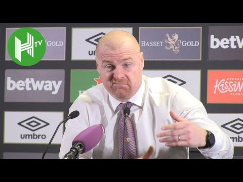 West Ham 4-2 Burnley | Sean Dyche: West Ham deserved penalty - referees are missing blatant calls