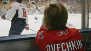 Ovechkin makes 8-year-old girl's wish come true
