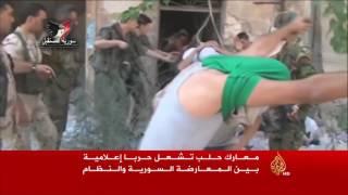 معارك حلب تشعل حربا إعلامية بين المعارضة والنظام