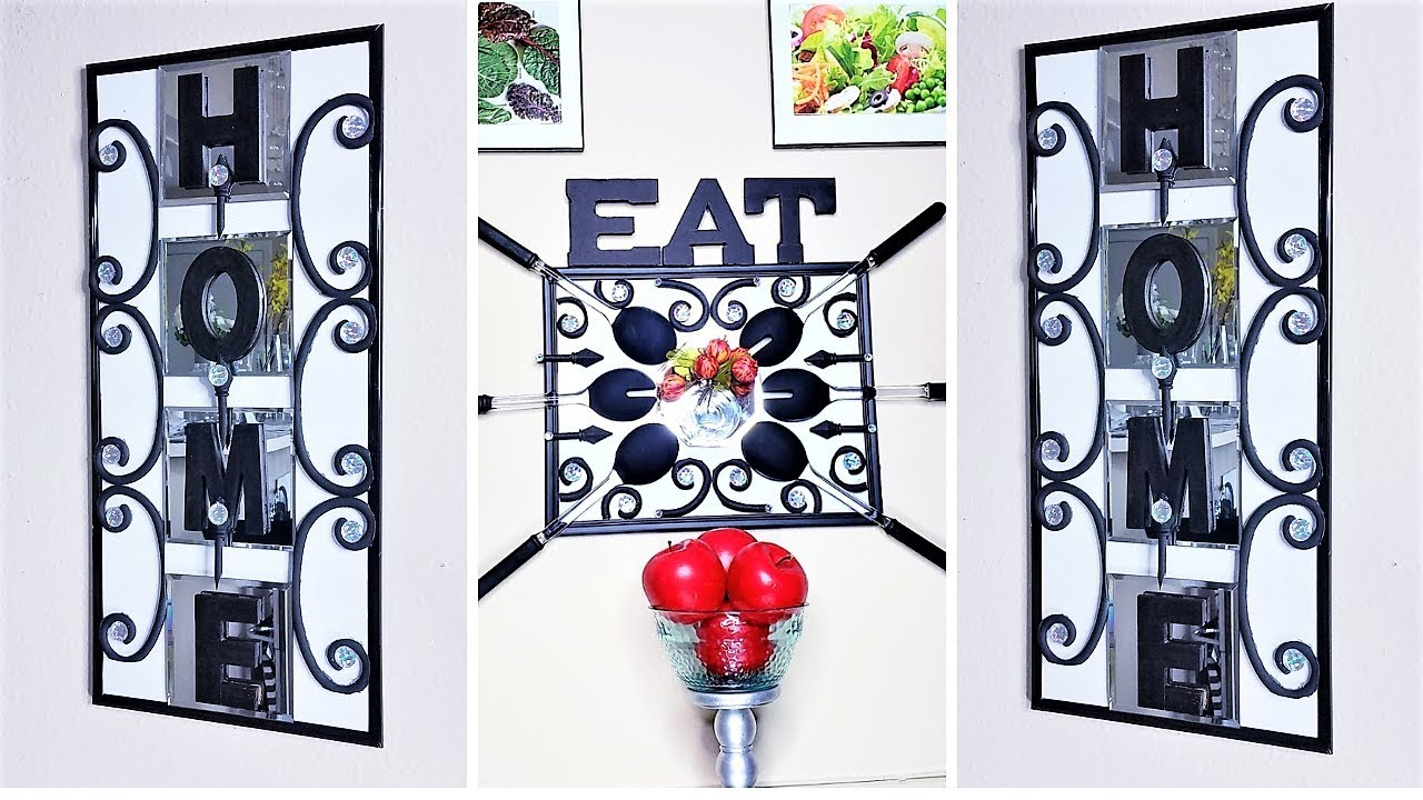 Wall Decor For Homes And Kitchen Area With Dollar Tree Items Home