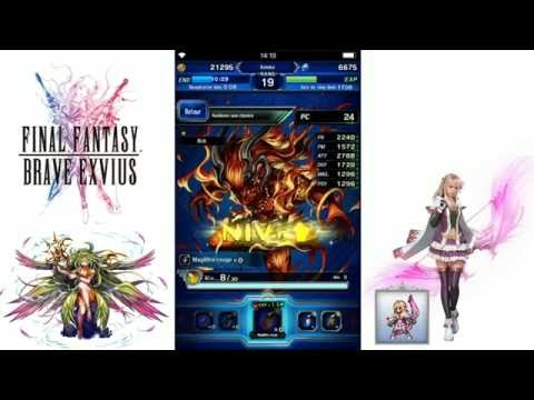 CAPTURE D'IFRIT - FF Brave Exvius - Gameplay FR HD