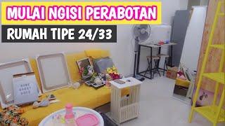 Review Perabotan Di Rumah Type 24/33 + Info Harganya | Home Decor Indonesia