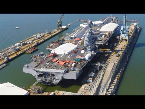 The USS Gerald R. Ford Aircraft Carrier Has Some Serious Issues to Fix