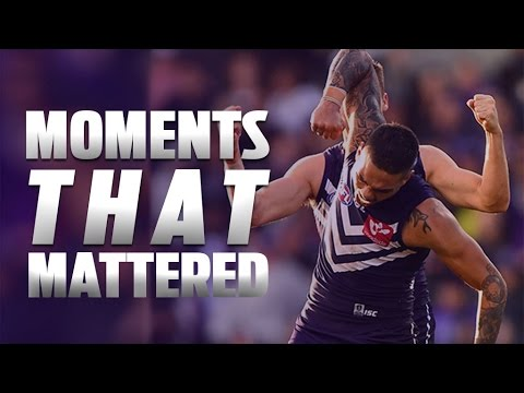 Moments that mattered: Round 9