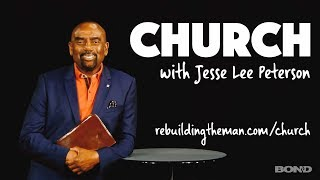 Church with Jesse Lee Peterson LIVE Sun, July 22nd, 11a PT (1CT/2ET)