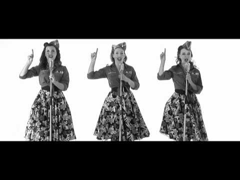 Boogie Woogie Bugle Boy - The Andrew Sisters (Cover By The Spinettes)