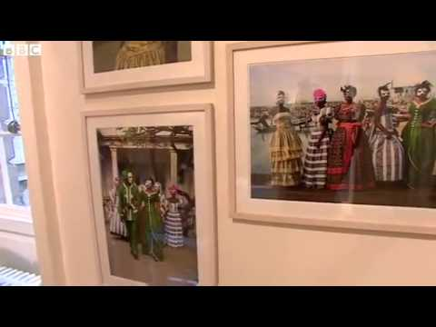 BBC News African contemporary art fair opens in London
