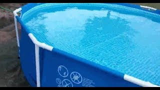 Как осветлить воду в бассейне и сделать ее чистой на все лето