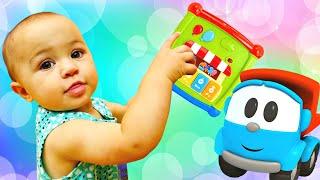 Марта и детские игрушки для мелкой моторики. Видео для малышей Дада игрушки