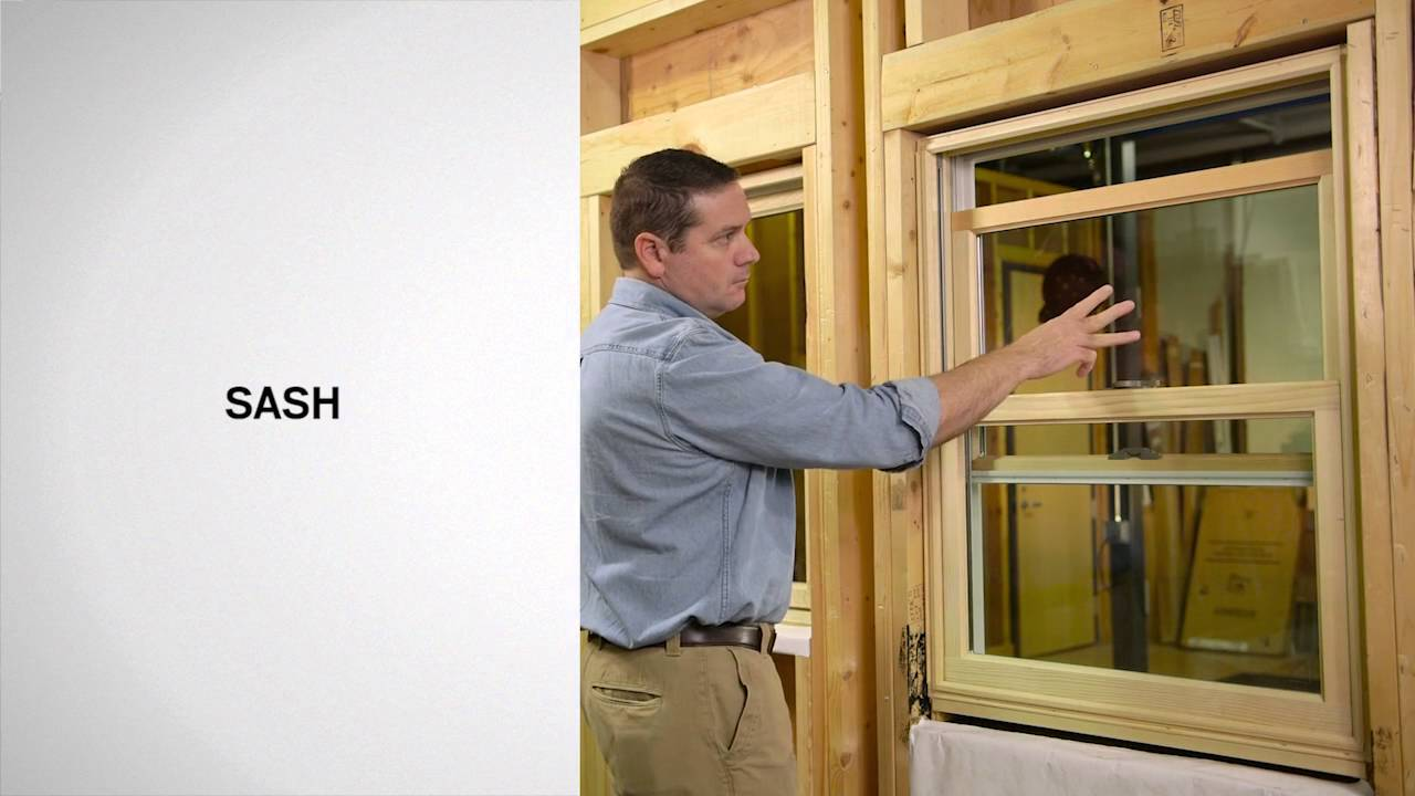 Identifying The Parts Of Woodwright Double Hung Windows Andersen