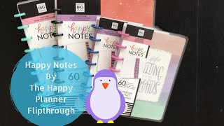 Happy Notes by The Happy Planner: Flipthroughs