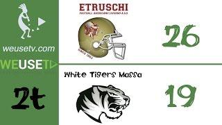 Etruschi Livorno Vs White Tigers Massa (26-19) (secondo tempo)