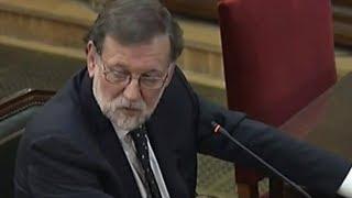 VOX pone en su sitio a Rajoy durante su declaración en el juicio del 1-0