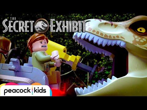 Dinosaur Delivery Gone Wrong | LEGO JURASSIC WORLD: THE SECRET EXHIBIT