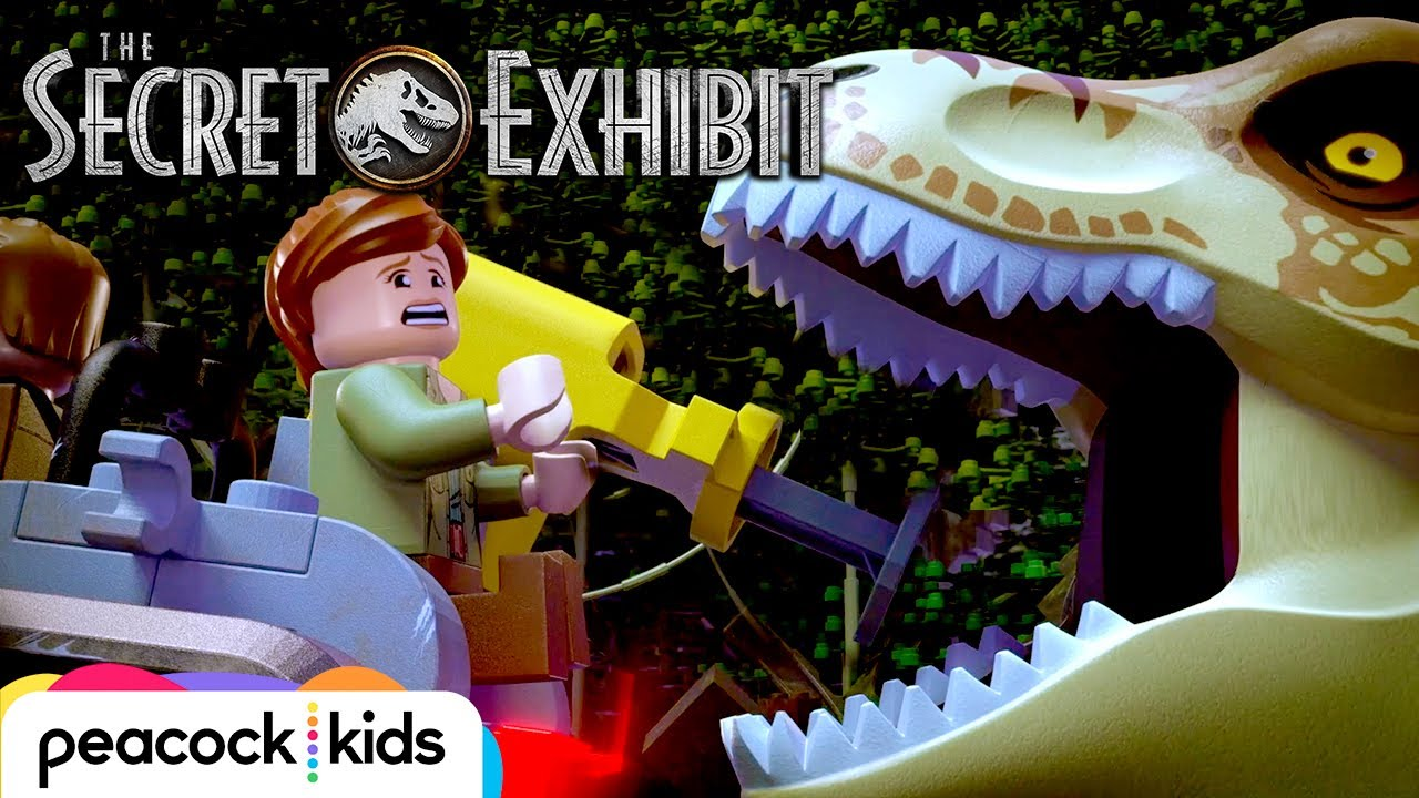 Dinosaur Delivery Gone Wrong | LEGO JURASSIC WORLD: THE ...