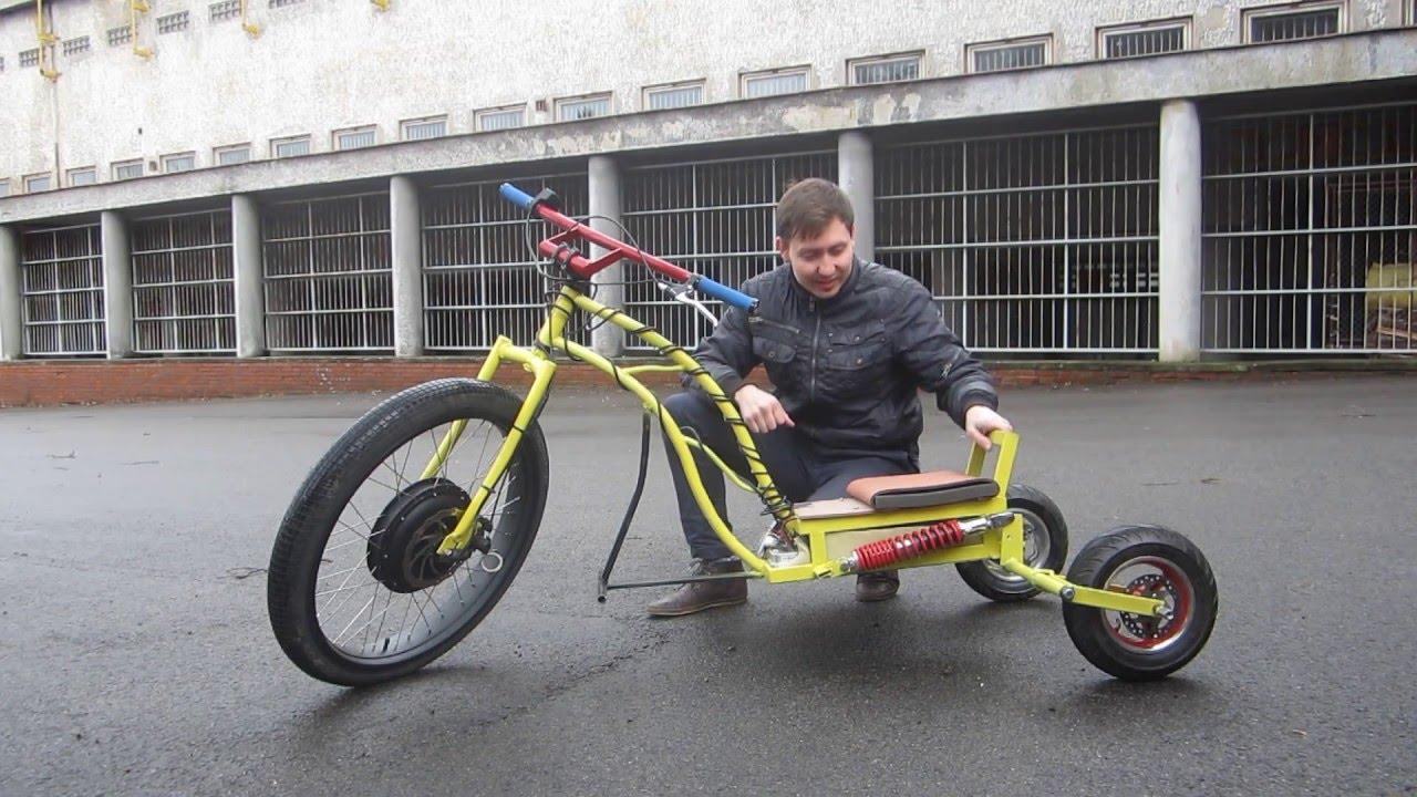 трициклы своими руками фото
