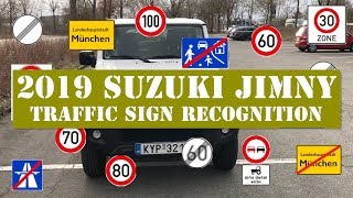 2019 Suzuki Jimny Traffic Sign Recognition