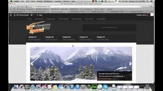 How fast is the Backcountry Theme on Lightning Base Hosting WPThemeSpeed