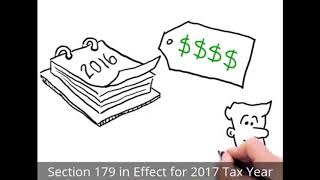 IRS Section 179 Deduction 2017 Tax Year