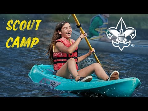Scout Camp | Scouts BSA Girls