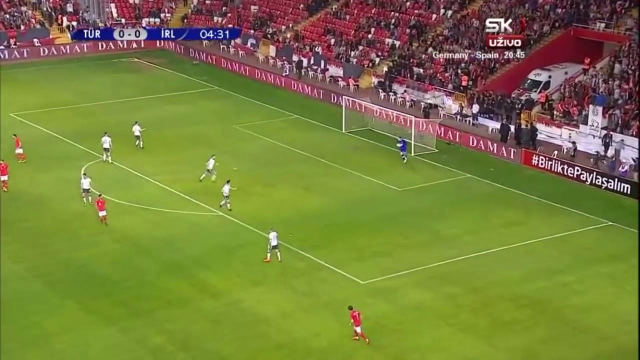 Türkiye:1-0:İzlanda maç özeti
