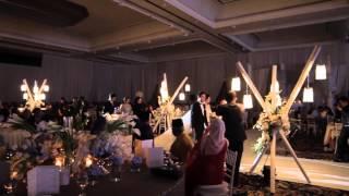 Cinta Sesungguhnya by Hardy at the wedding of Amir and Farah